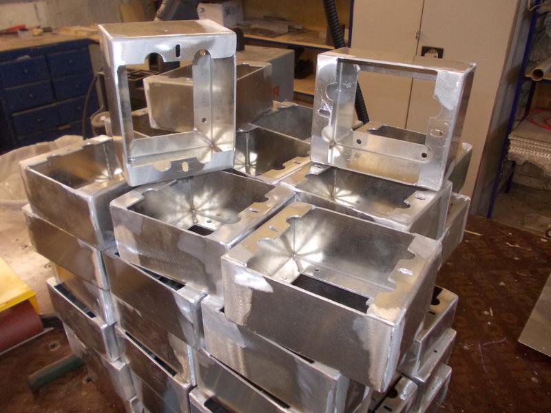Изготовление корпусов из алюминия своими руками 86